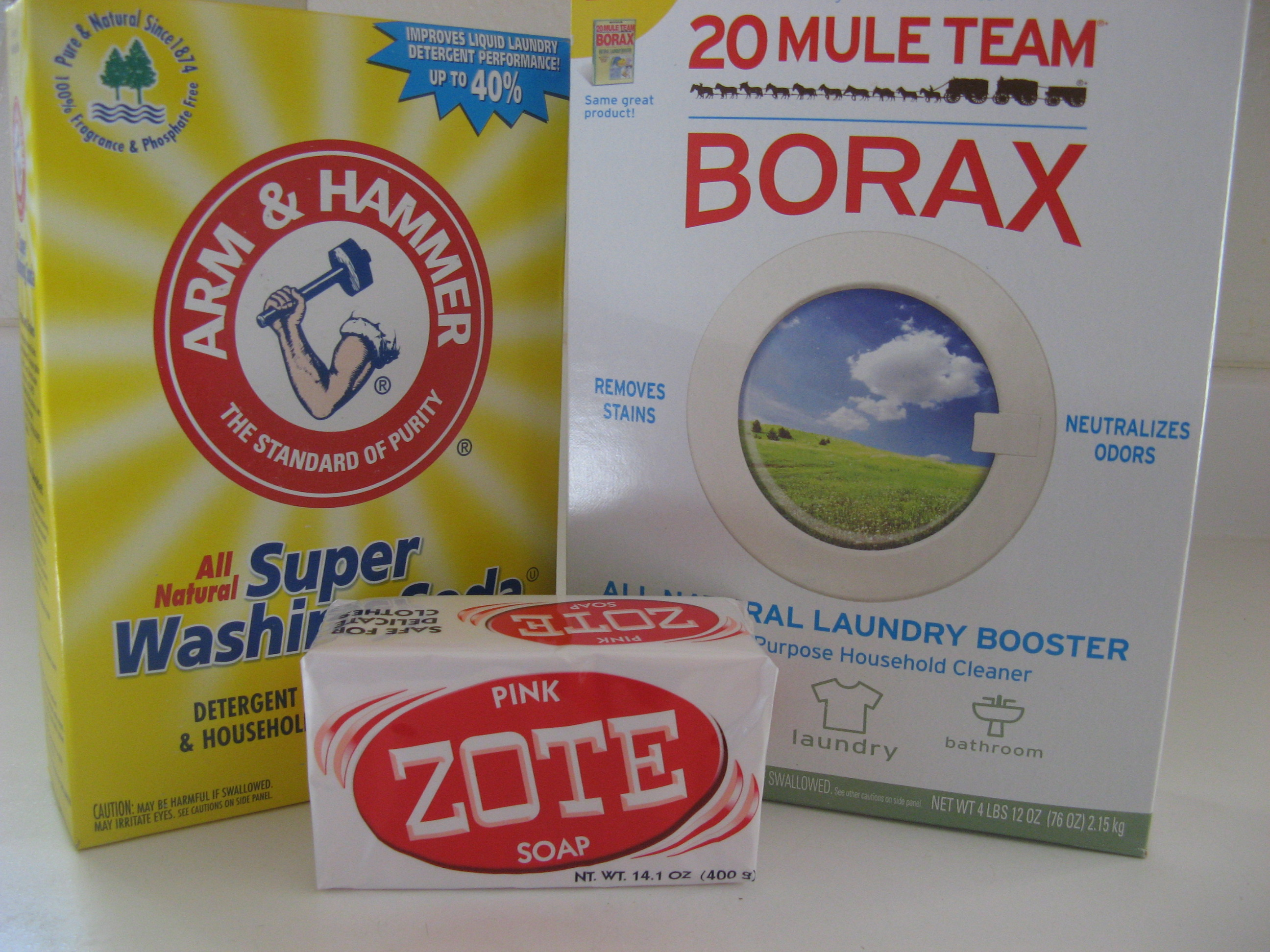 All-Natural Homemade Laundry Detergent