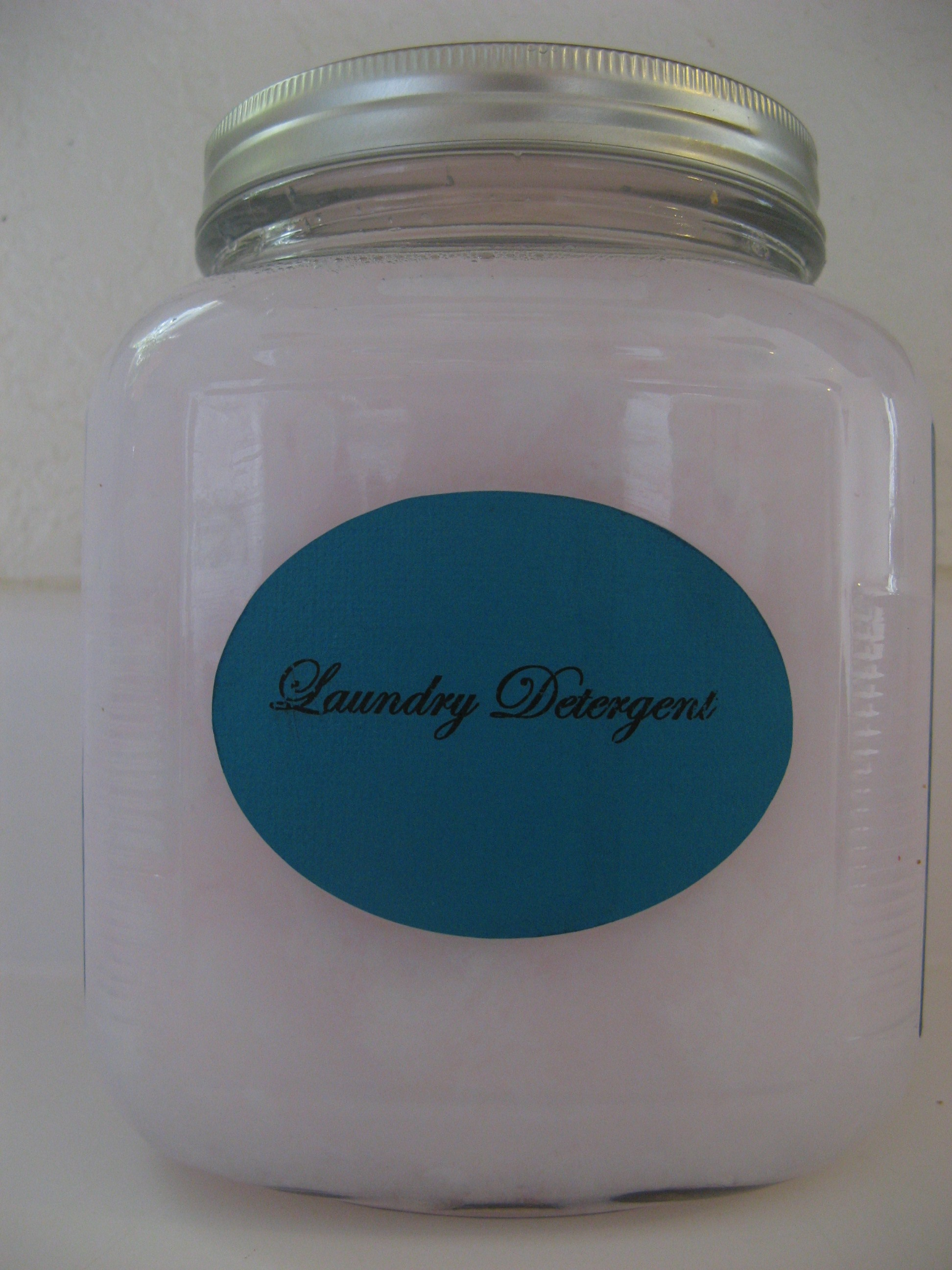 All Natural Homemade Laundry Detergent Somewhere In The
