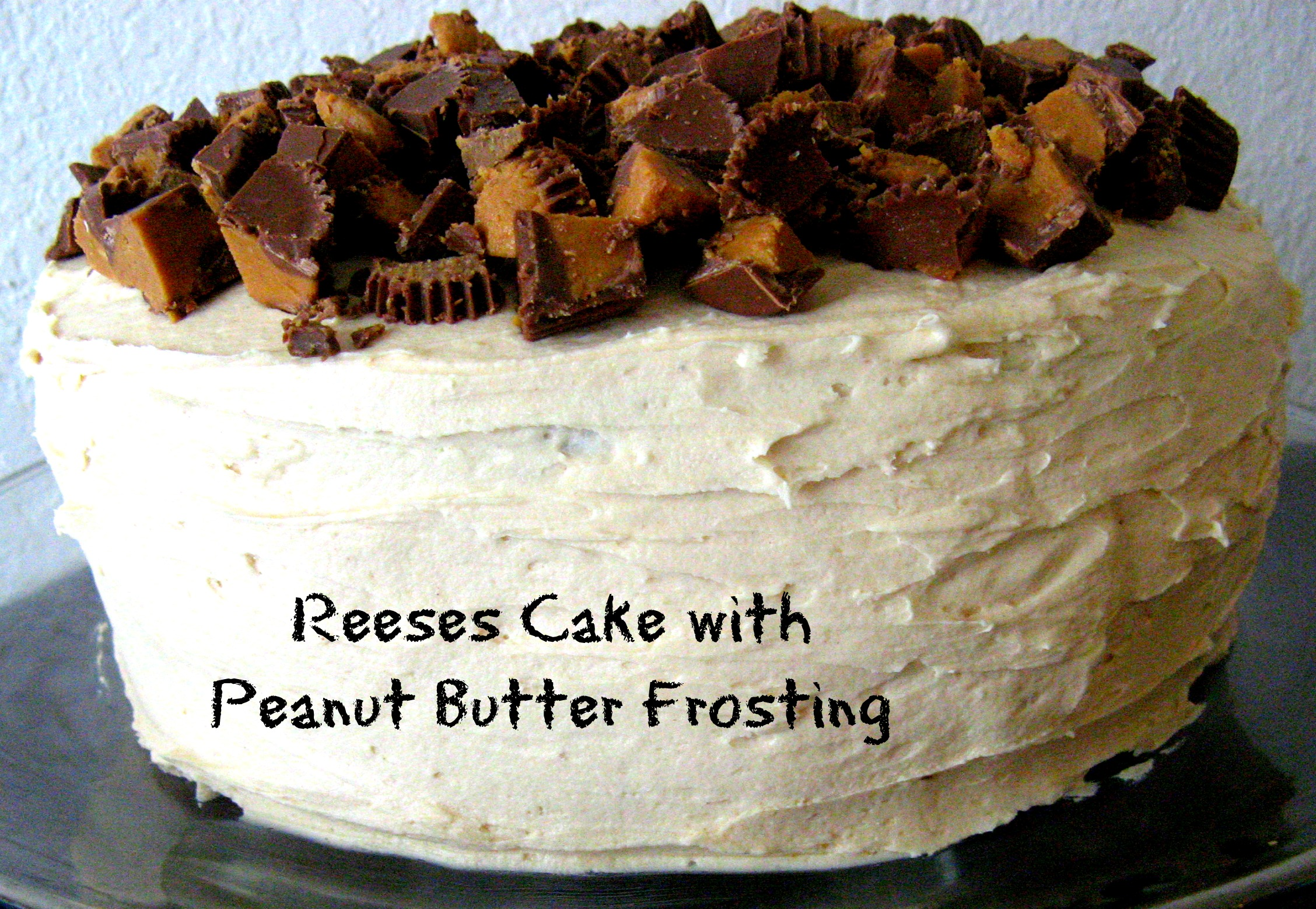 Easy Reeses Peanut Butter Cup Cake