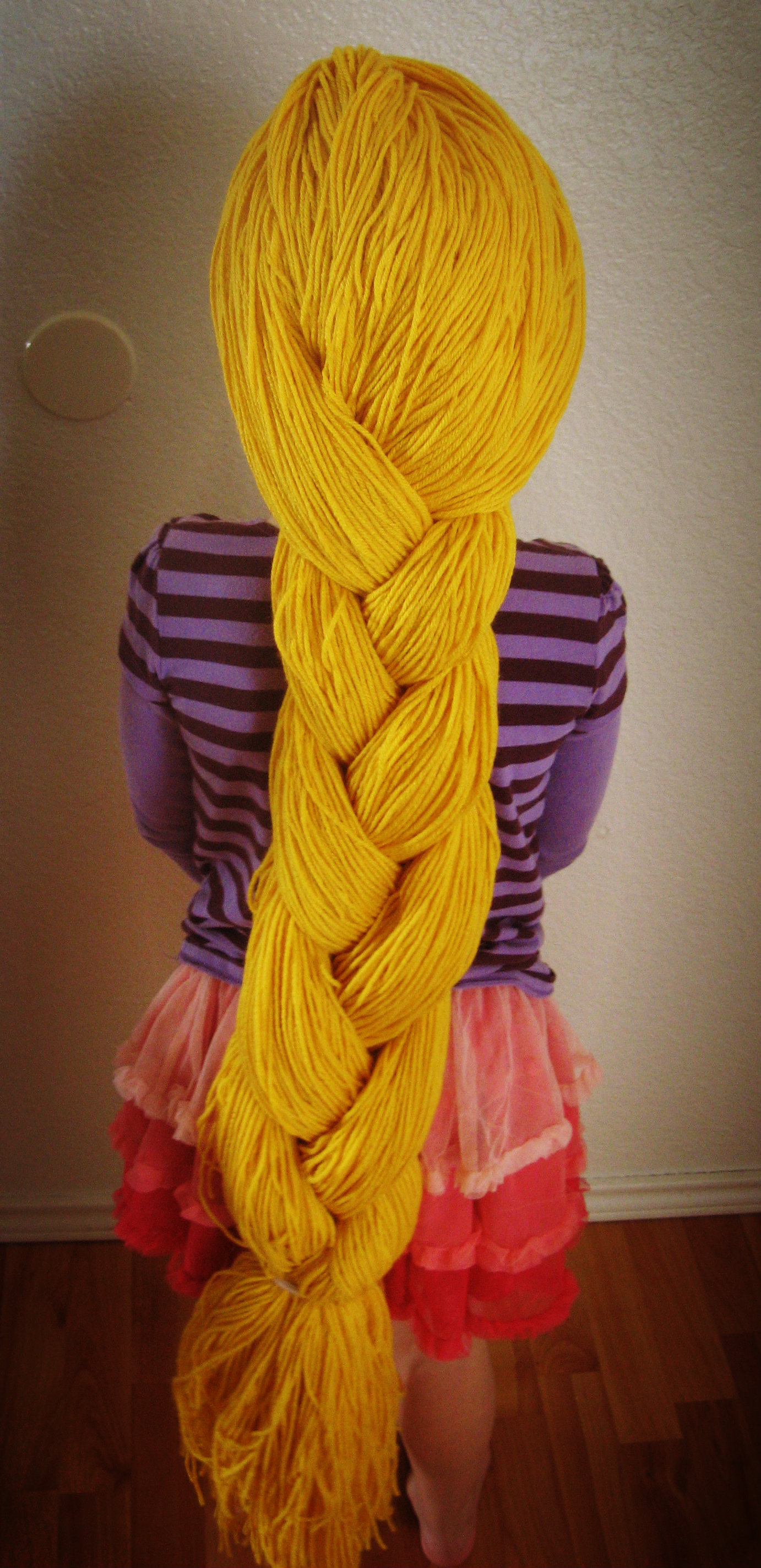 Fairy Tale Month Rapunzel Braid Project Somewhere In The Middle